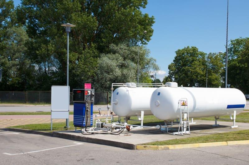 Stacja gazu LPG