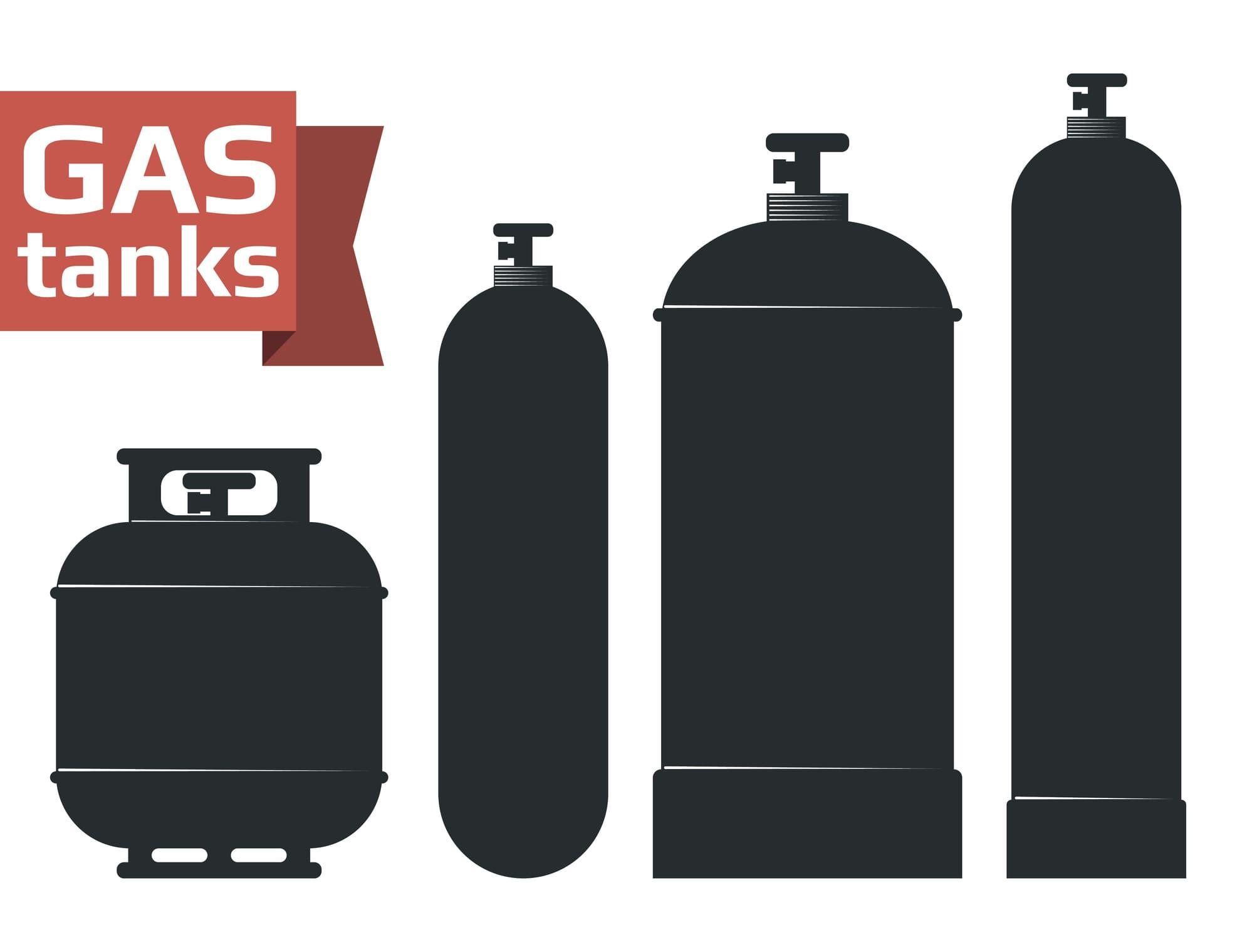 Zbiorniki cylindryczne - gaz