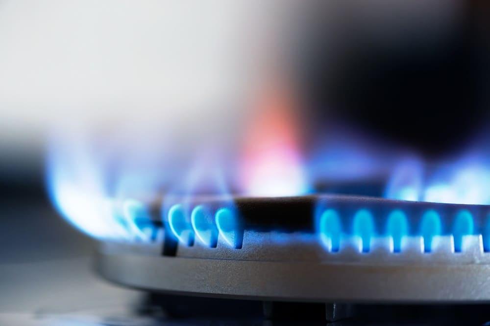 gaz spalanie